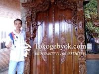 Pintu Gebyok Ukir Model Keraton