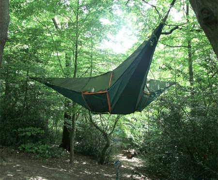 Celebrities Spy Hanging camping Tent 10 Images
