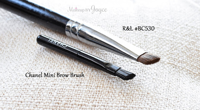 Royal & Langnickel Silk Sable Brow Angle #BC530 Brush Review