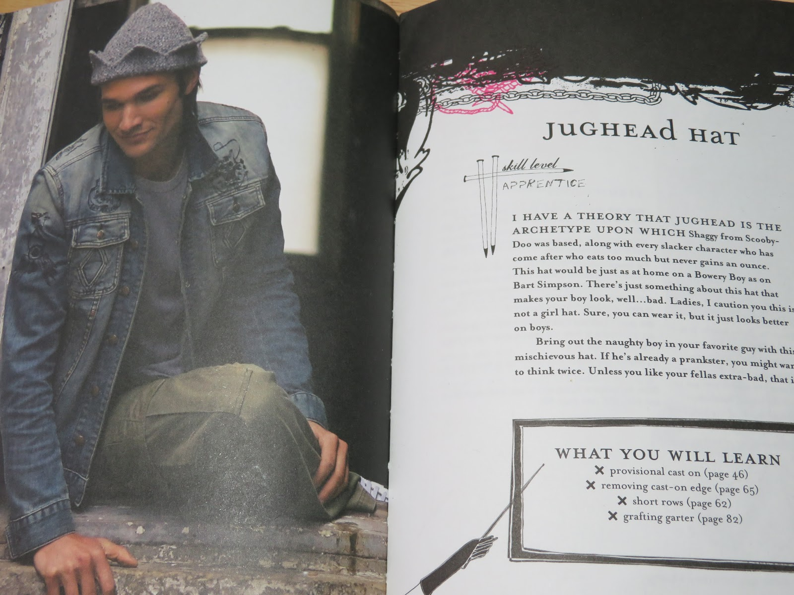 Knitting Pattern Jughead Hat : Peace, Love & Understanding: Jughead Hat