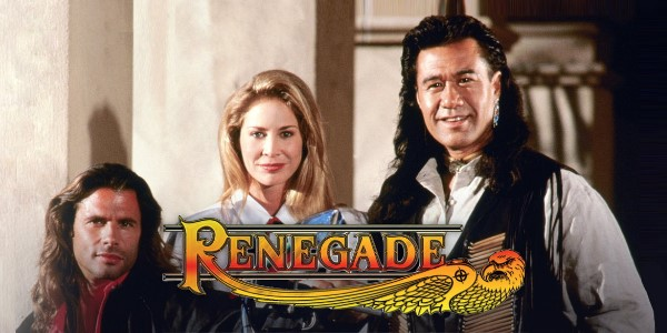 film serial barat era 90-an, renegade serial tv
