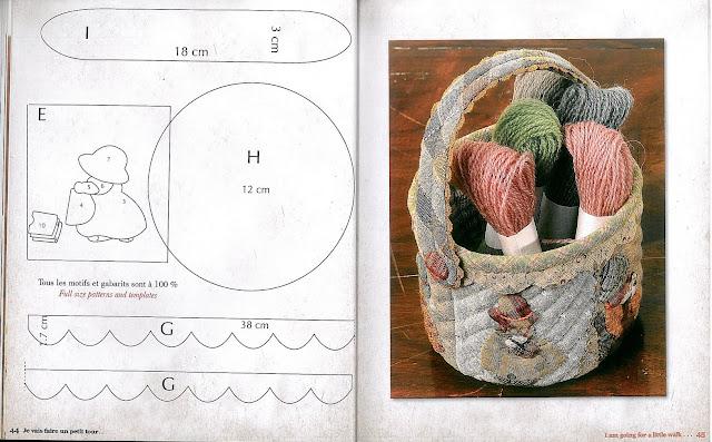 Bags, cosmetic patchwork. DIY tutorial