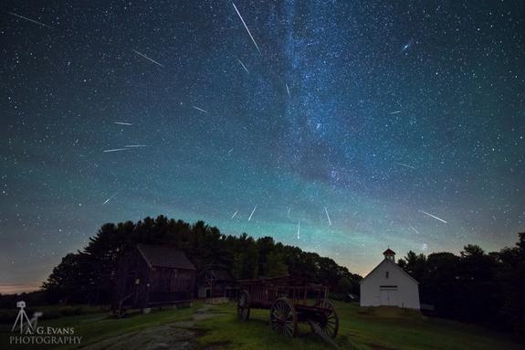 fotos da chuva de meteoros perseidas 10