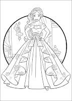 הנסיכה אלנה לצביעה
