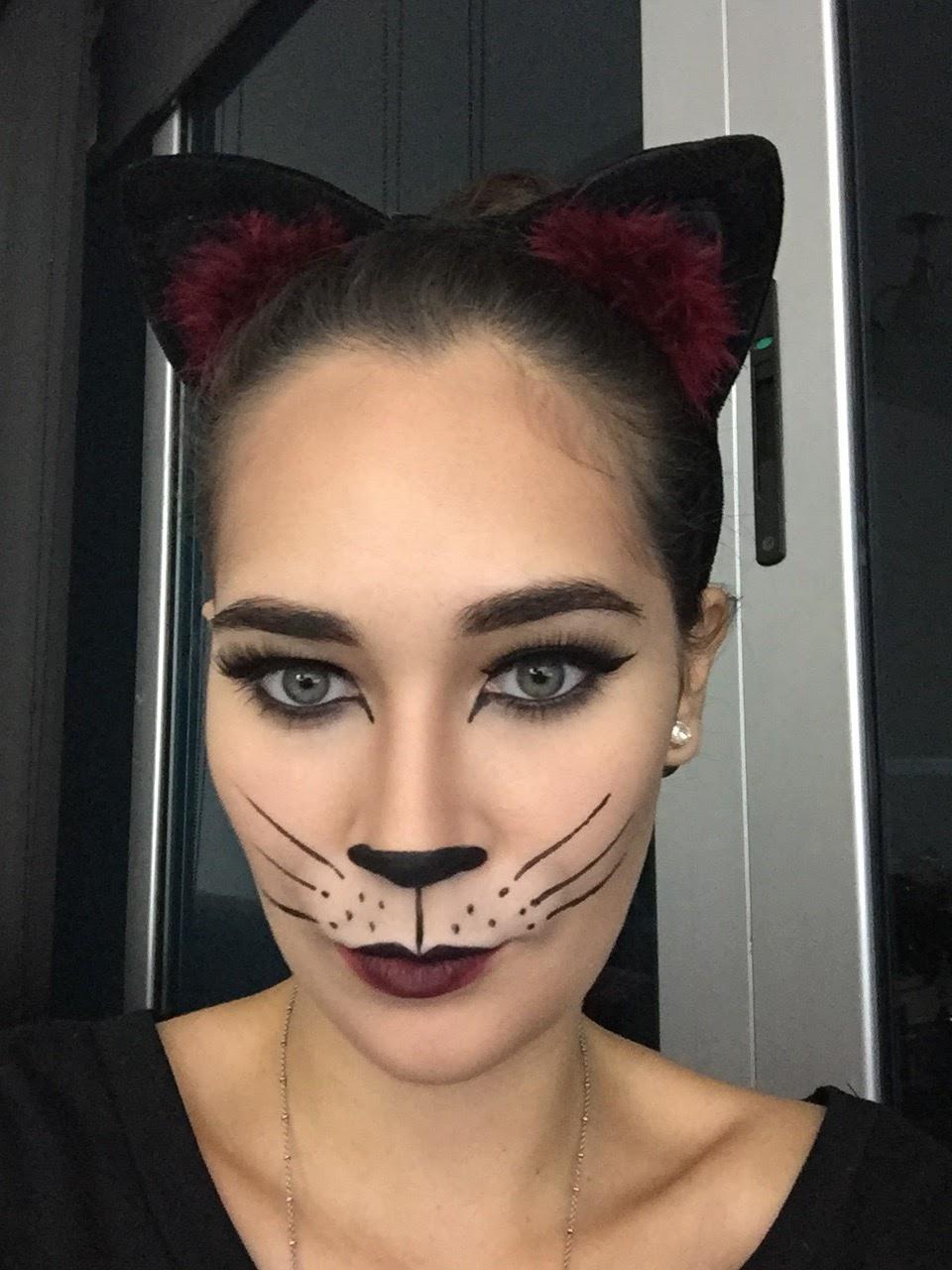 Imagenes Maquillaje De Gata Para Halloween - Disfraz-de-gata-para-halloween