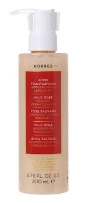 Needful Things - Korres Wild Rose Foaming Cream Cleanser