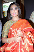 Shriya Saran Looks Stunning in Silk Saree at VRK Silk Showroom Launch Secundrabad ~  Exclusive 088.JPG