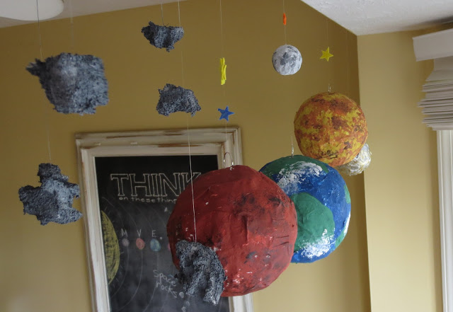 Paper Mache Solar System (page 2) - Pics about space