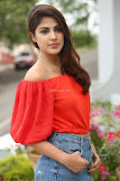 Rhea Chakraborty in Red Crop Top and Denim Shorts Spicy Pics ~  Exclusive 132.JPG