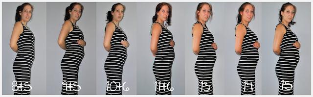 15 weken zwanger buikfoto