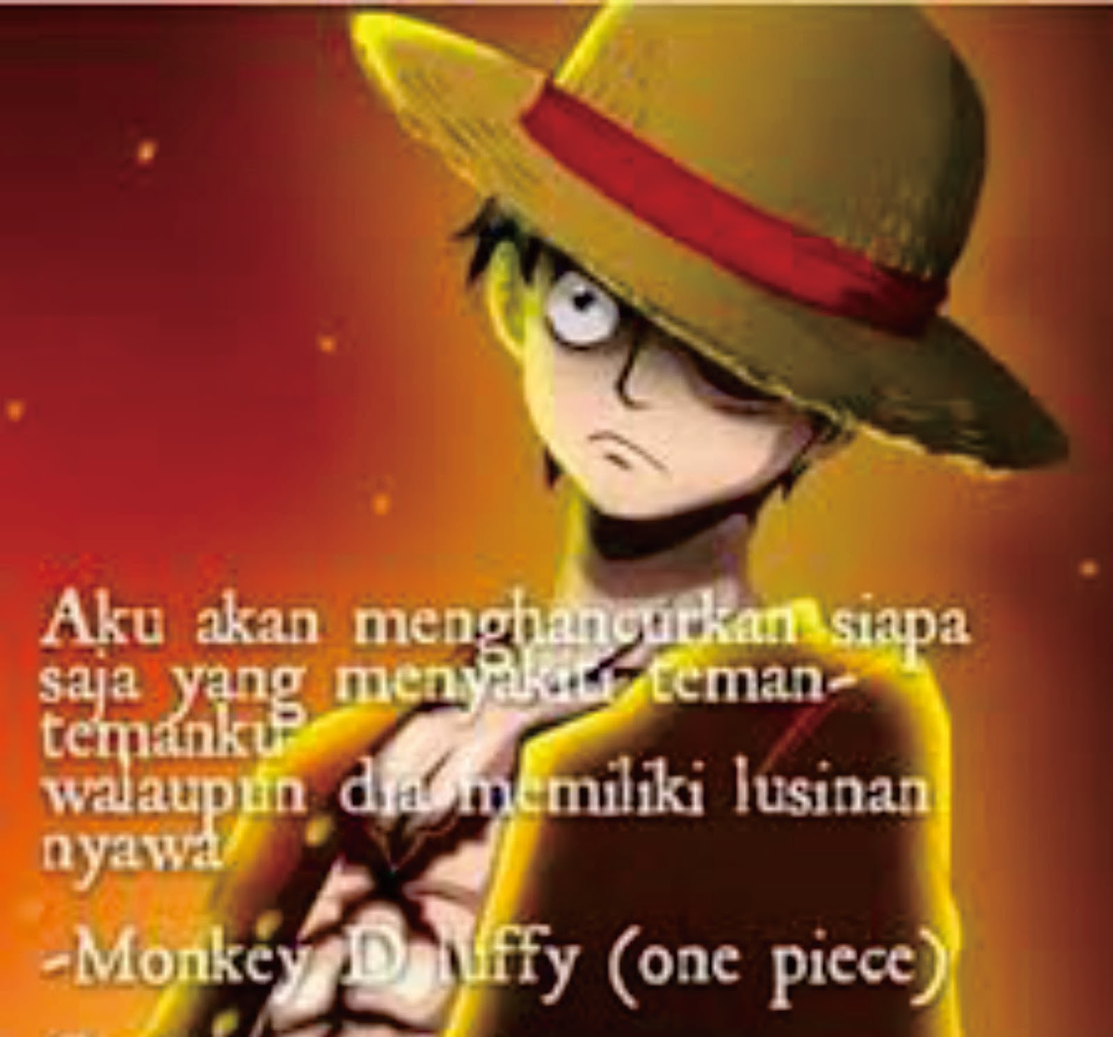 Dp Bbm Kata Bijak Anime One Piece Populer Dan Terlengkap Top Meme