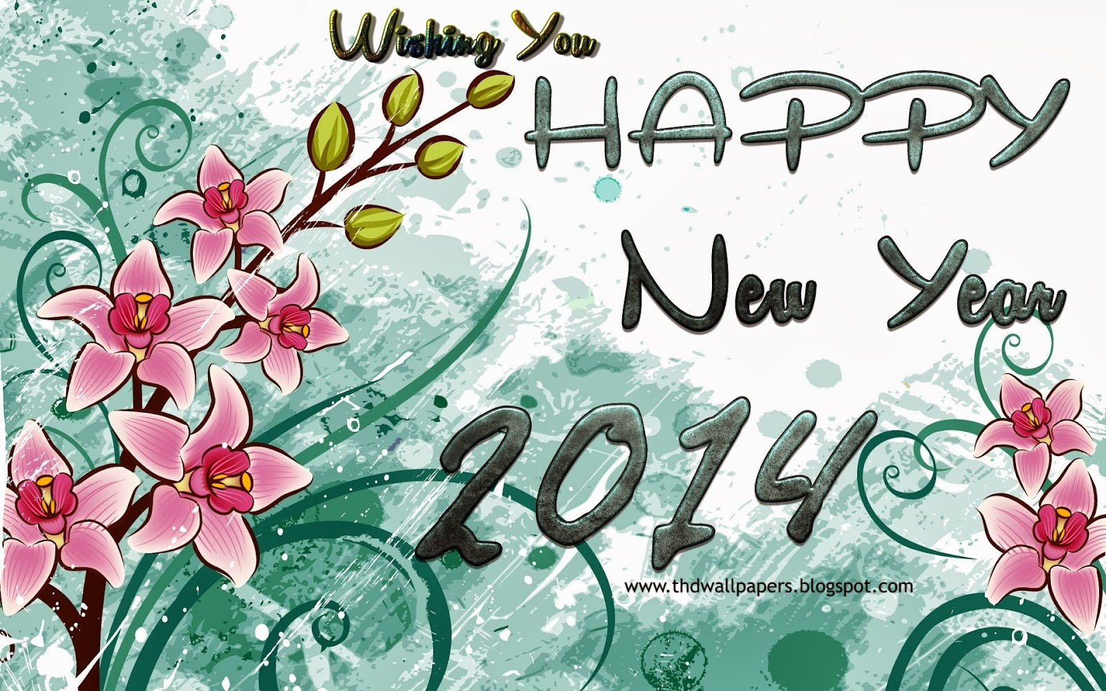 New Year 2014 Wishes Wallpapers For Free Download 2014 Happy New Year.6 Free New Year Cards For Download 2014