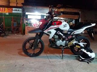 Modifikasi Motor Yamaha Vixion 14