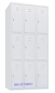 Tủ Sắt Locker 9 Ngăn Godrej