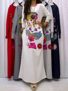 Gamis Trendy fit to L