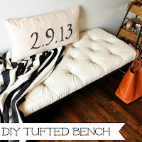 http://www.wonderfullymadebyleslie.com/2014/12/diy-tufted-bench-from-drop-cloth.html