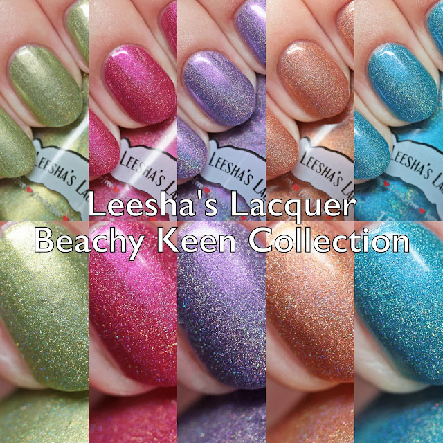 Leesha's Lacquer Beachy Keen Collection