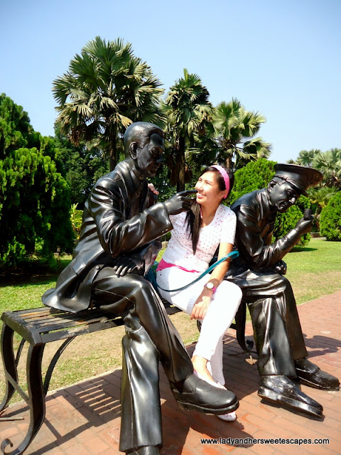 fun pictures at fort Santiago