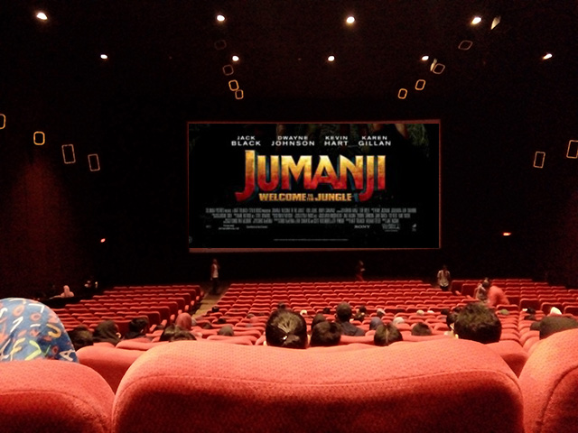 Nonton JUMANJI : WELCOME TO THE JUNGLE di Cinema XXI, Mega Bekasi Hypermall
