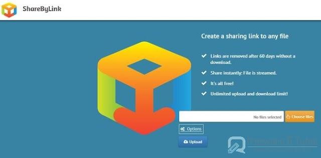 ShareByLink : une application en ligne pratique de partage de fichiers