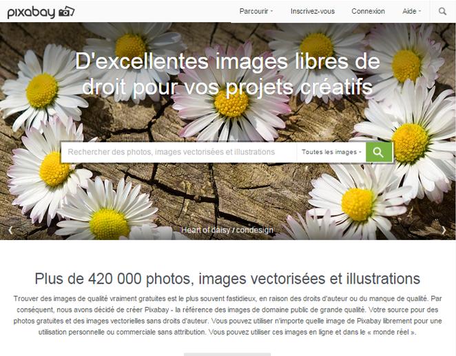 10 sites de photos gratuites libres de droit