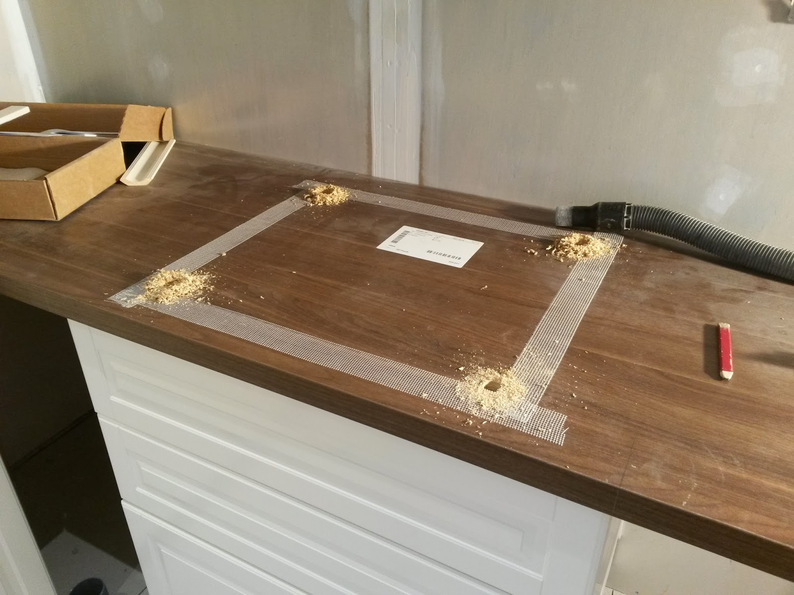 Montera diskho bänkskiva ikea Kakel till kök och badrum
