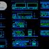 بلوكات وسائل نقل سيارات شاحنات طائرات بابعادها الحقيقية اوتوكاد dwg