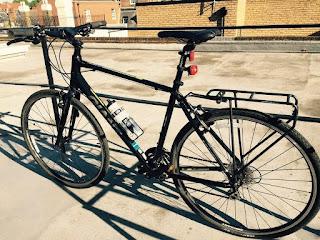 Stolen Bicycle - Giant Escape