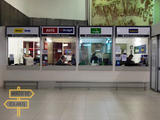 Aluguel de carro no Aeroporto Ezeiza
