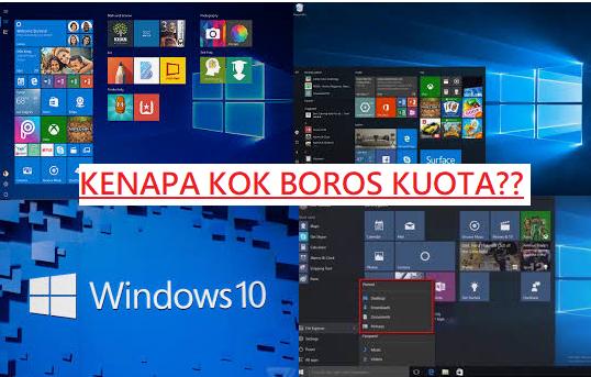 Cara mengatasi Windows 10 Boros Kuota