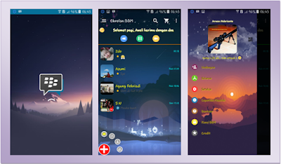 BBM INCREDIBLE JOURNEY THEMES NEW BASED 2.13.1.14 APK