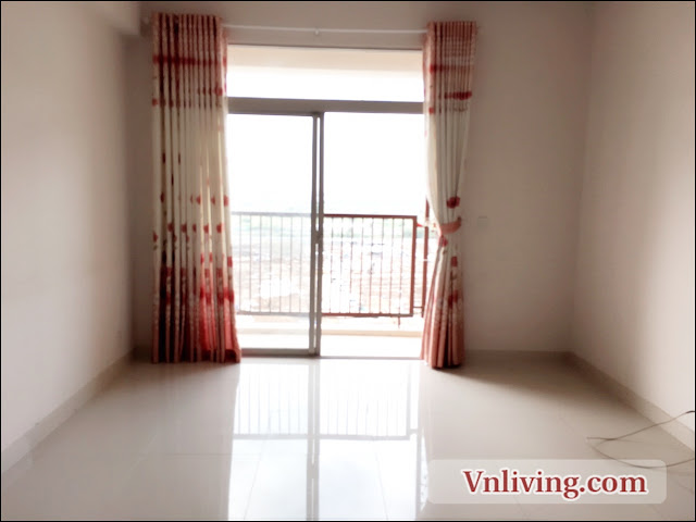 2 bedrooms unfurnished for rent in Parcspring apartment in District 2