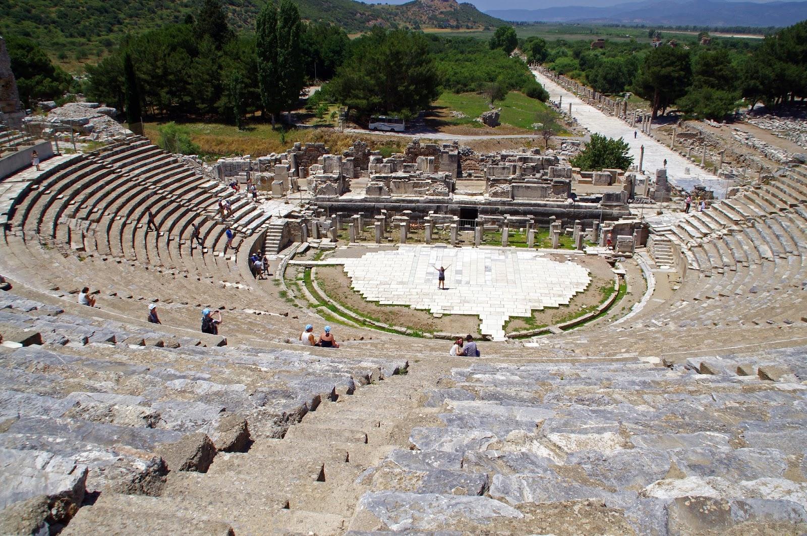 Ancient Stadium Ephesus Turkey