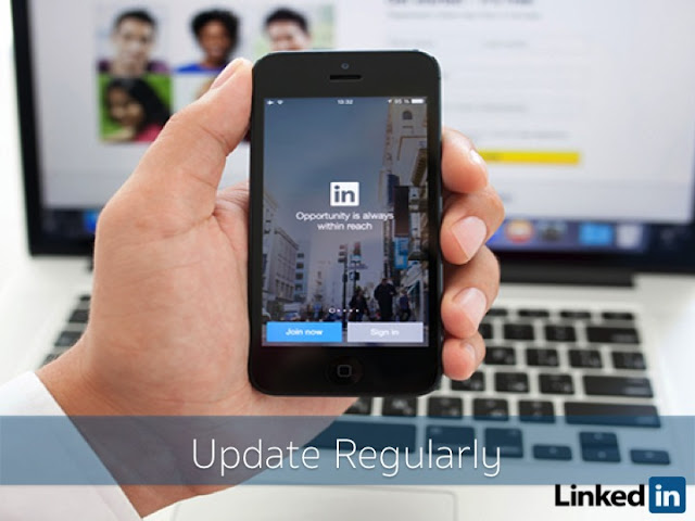 Update Your LinkedIn Profile Regularly