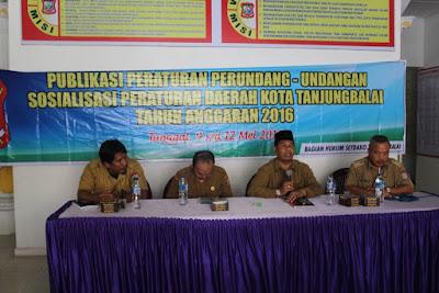 Kemenag Tanjungbalai Hadiri Sosialisasi Peraturan Daerah Kota Tanjungbalai Tahun Anggaran 2016