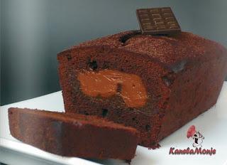 Cake de chocolate y dulce de leche