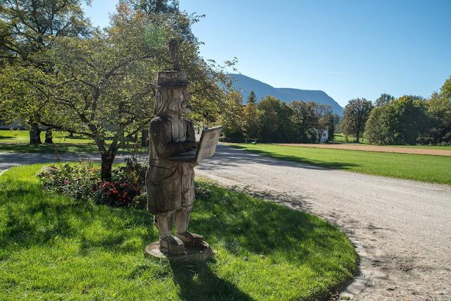 Rundweg Ohlstadt - Kreut-Alm  Freilichtmuseum Glentleiten Schwaiganger  Wandern im Blauen Land 13
