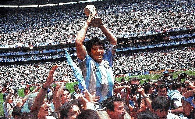 Hoe veranderde Maradona in een legende van het WK?
