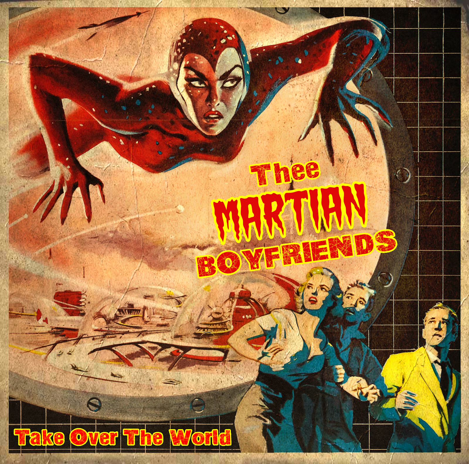 Thee Martian Boyfriends - Take over the Word