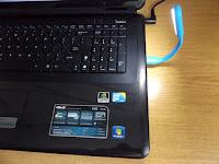 Lampka USB do oświetlenia klawiatury myPhone z Biedronki