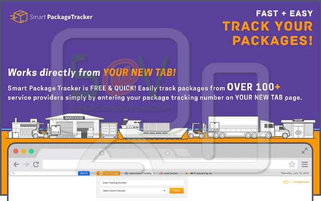 SmartPackageTracker (Hijacker)