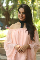 Rakul Preet Singh in lovely Pink Crop Top and Black Trousers at Jaya Janaki Nayaka success meet 045.JPG