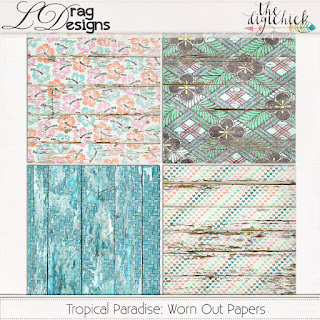 Creative Team for LDrag Designs -    Tropical Paradise and Coordinating Freebie