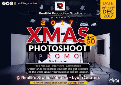 EVENT: Reallife studios is organizing a PHOTOSHOOT section that comes with a discount
