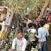 मधुबनी : जर्जर बस दुर्घटनाग्रस्त, दर्जनों हुए घायल