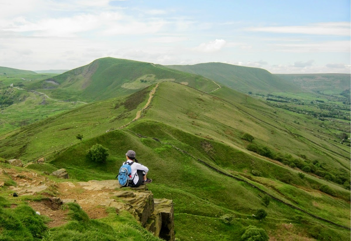 The Great Ridge of Edale