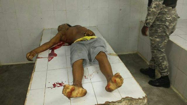 La Policía Nacional acribilló a tiros al cabecilla de una poderosa banda de delincuentes en RD.