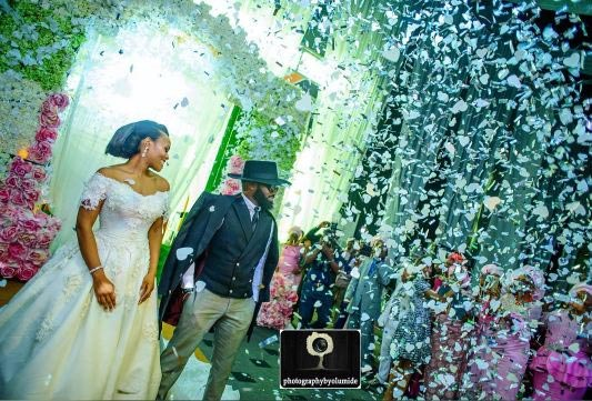 Official photos from Cynthia and Noble Igwe's wedding