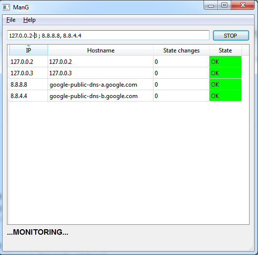 HITORI: ManG - Bulk ping tool (python)