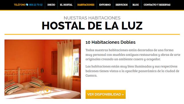 www.hostaldelaluz.es